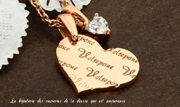 ホワイトデーお返し彼女にアクセサリー特集ジュエリー王国ベルセポーネ Joli chocolat ジョリー ショコラ シルバー925 ネックレス