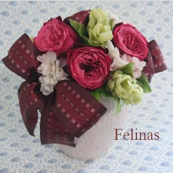 フェリナスローズ。フェリナスはバラのプリザーブドフラワーギフト通販専門!